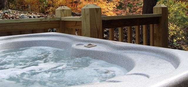 hot tub fall