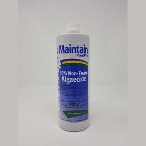 Maintain Pool Pro 60% Non Foam Algaecide - 1qt